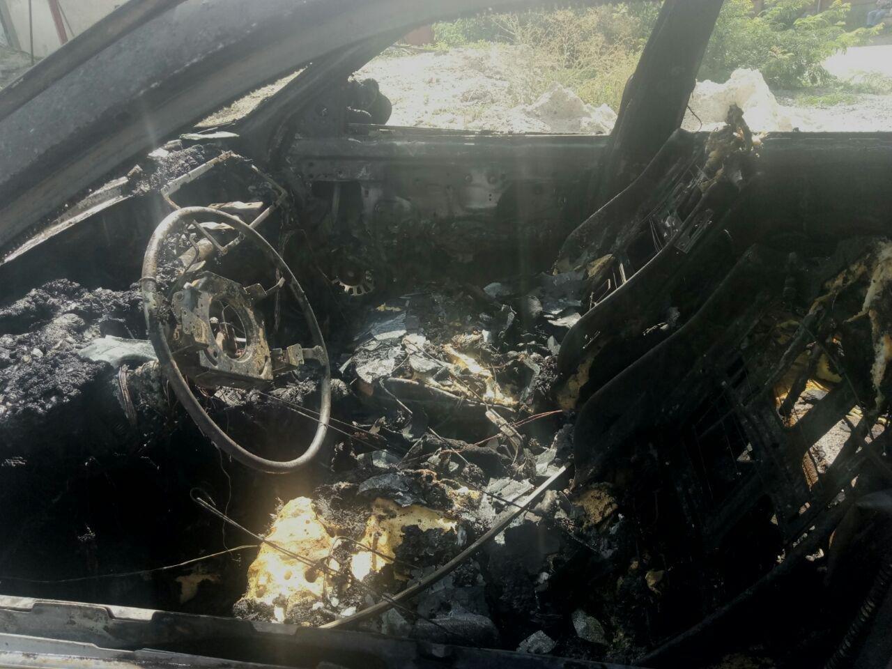 В Мелитополе на СТО взорвался автомобиль, фото-2