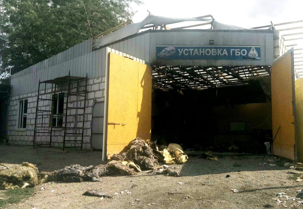 В Мелитополе на СТО взорвался автомобиль, фото-3