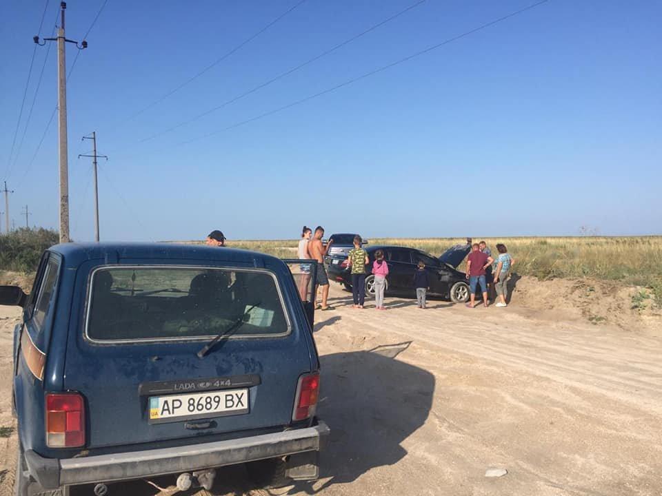 В Кирилловке перевернулся автомобиль, - ФОТО, фото-1