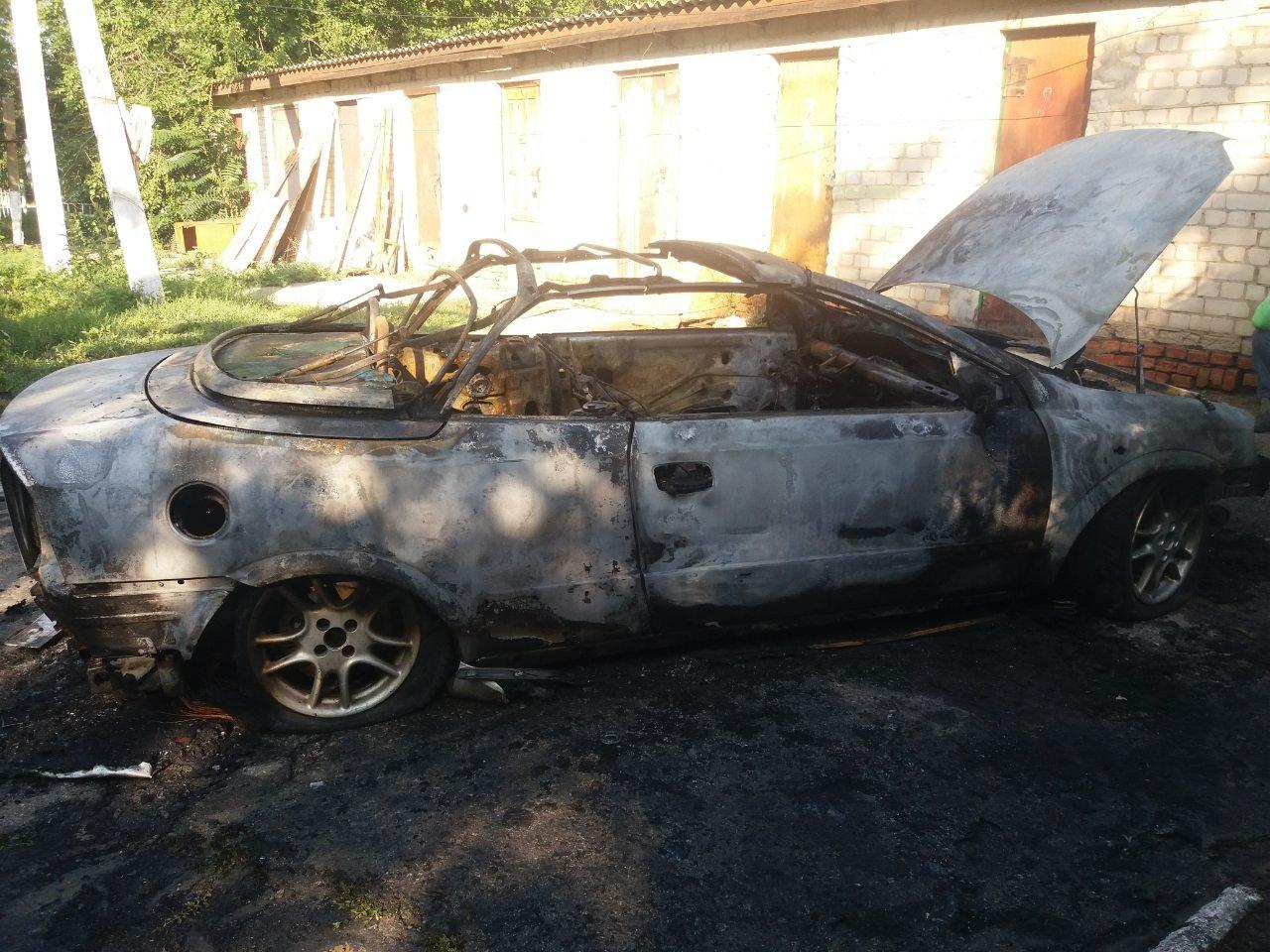 В Акимовке ночью сгорел автомобиль , фото-1