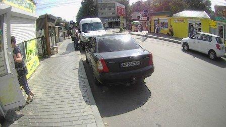 В Мелитополе начали штрафовать автохамов , фото-2