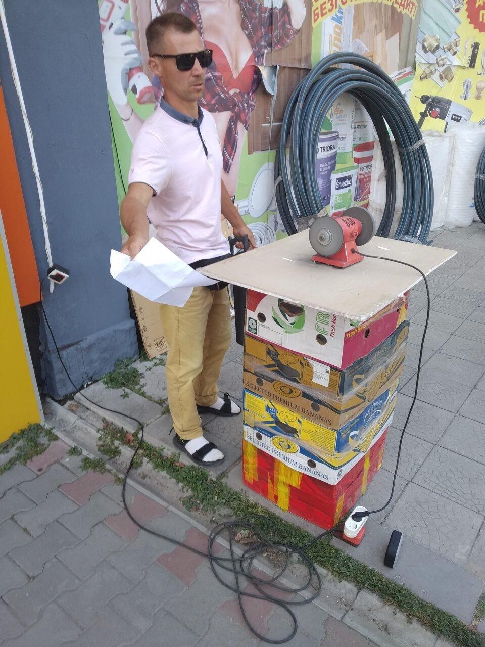 В Мелитополе стихийный торговец заплатит сразу два штрафа , фото-6