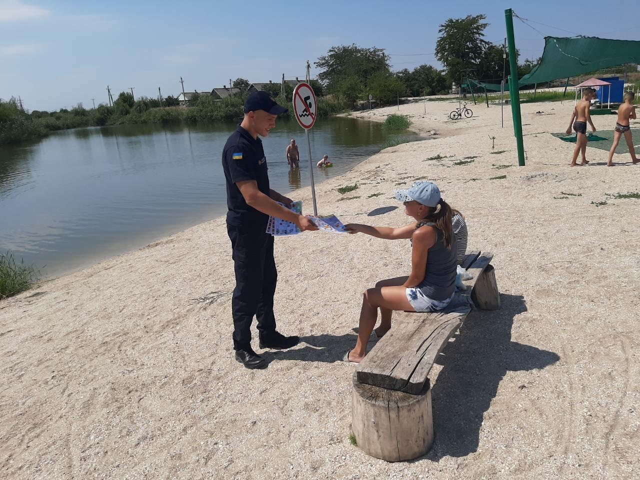 Мелитопольцам напомнили о запрете купания в Горячке, фото-2