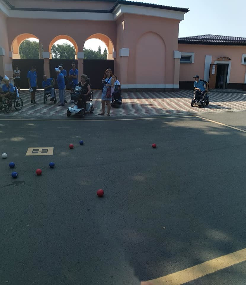 В Мелитополе проходят соревнования для людей с инвалидностью, фото-2, Фото из соцсети