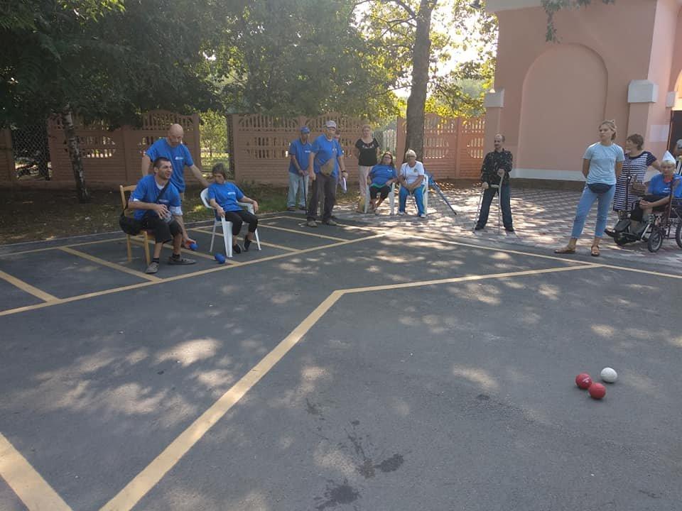 В Мелитополе проходят соревнования для людей с инвалидностью, фото-1, Фото из соцсети