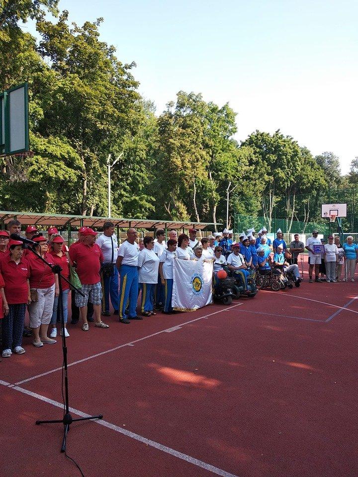 В Мелитополе проходят соревнования для людей с инвалидностью, фото-3, Фото из соцсети