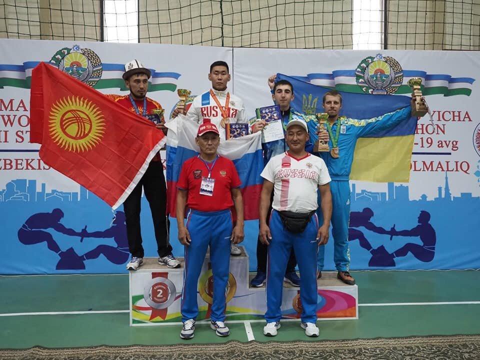 Мелитопольская спортсменка завоевала бронзовую медаль на II этапе Кубка мира по мас-рестлингу, фото-1
