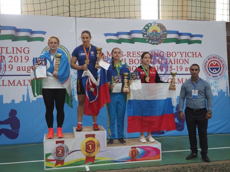 Мелитопольская спортсменка завоевала бронзовую медаль на II этапе Кубка мира по мас-рестлингу, фото-4