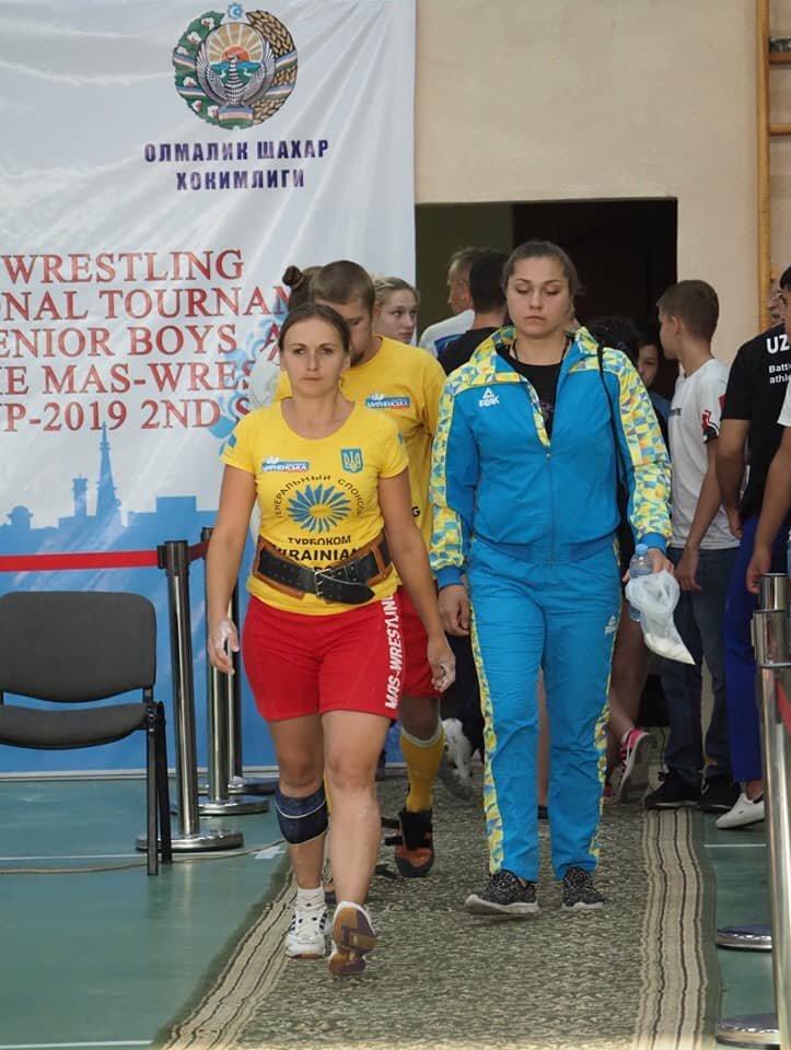 Мелитопольская спортсменка завоевала бронзовую медаль на II этапе Кубка мира по мас-рестлингу, фото-6