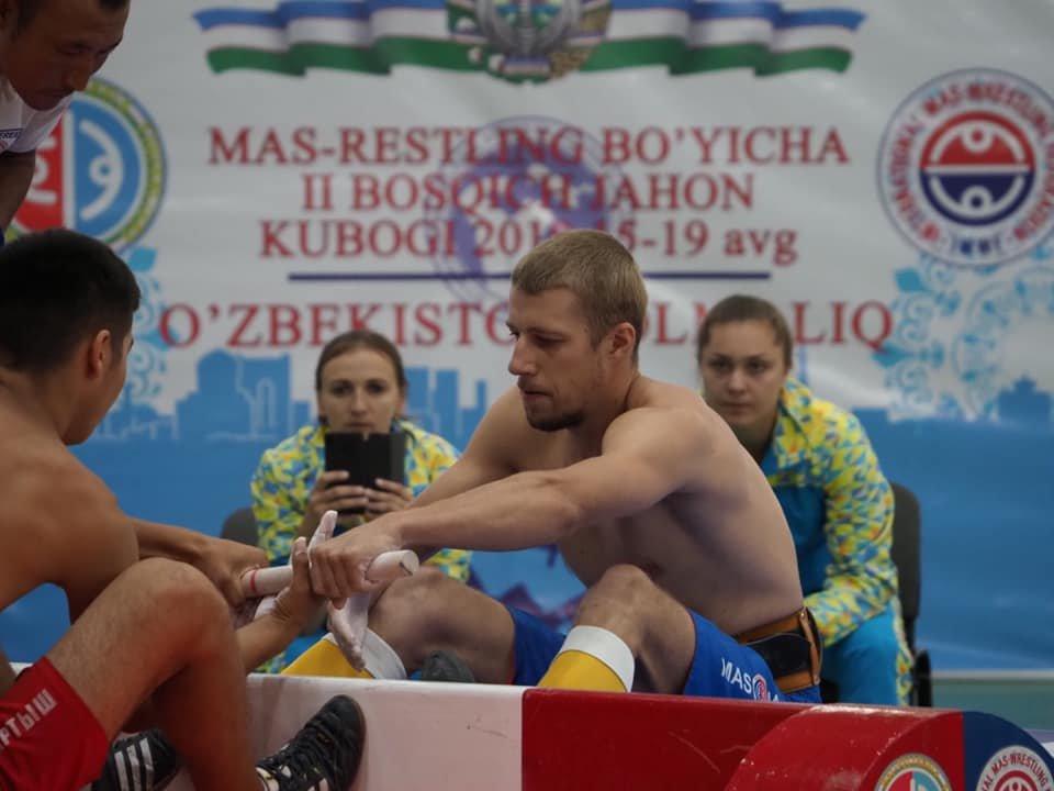 Мелитопольская спортсменка завоевала бронзовую медаль на II этапе Кубка мира по мас-рестлингу, фото-8