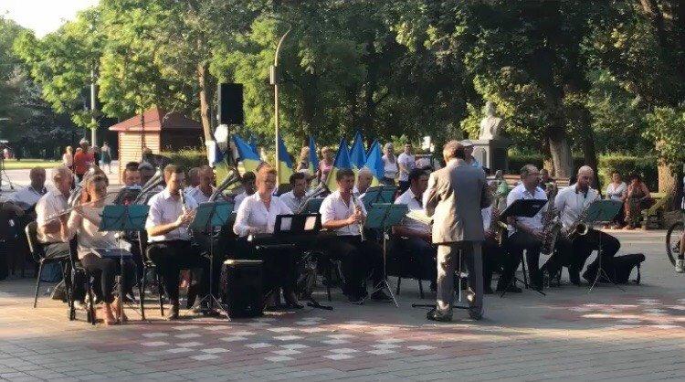Мелитопольцы отпраздновали День Независимости Украины, фото-5
