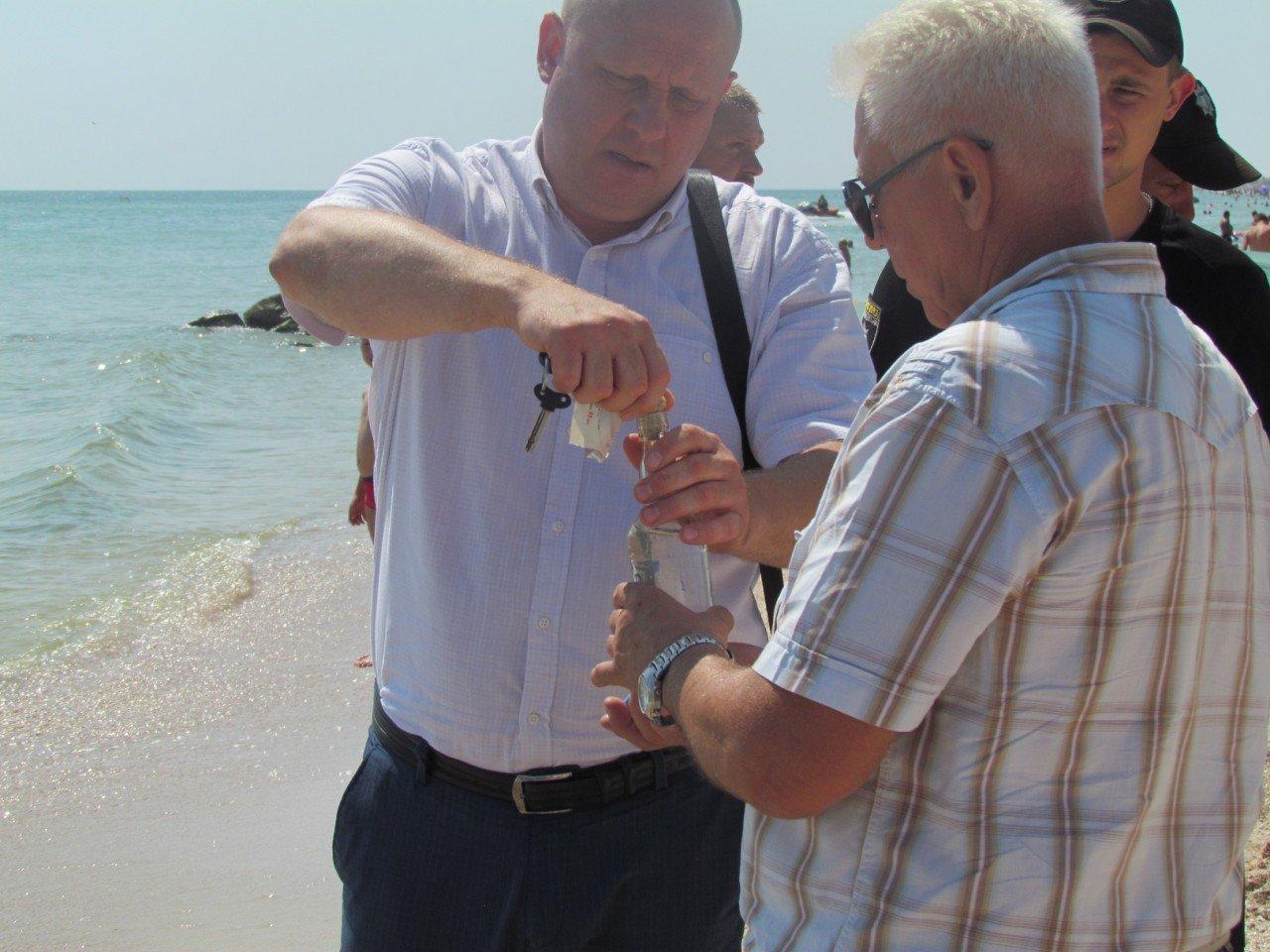 В Кирилловке проверили качество морской воды, фото-1
