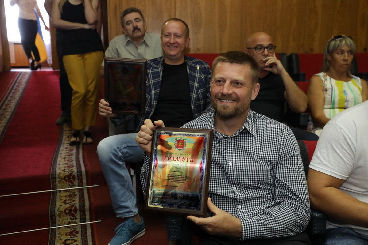 Мелитопольских предпринимателей поздравили с профессиональным праздником , фото-1