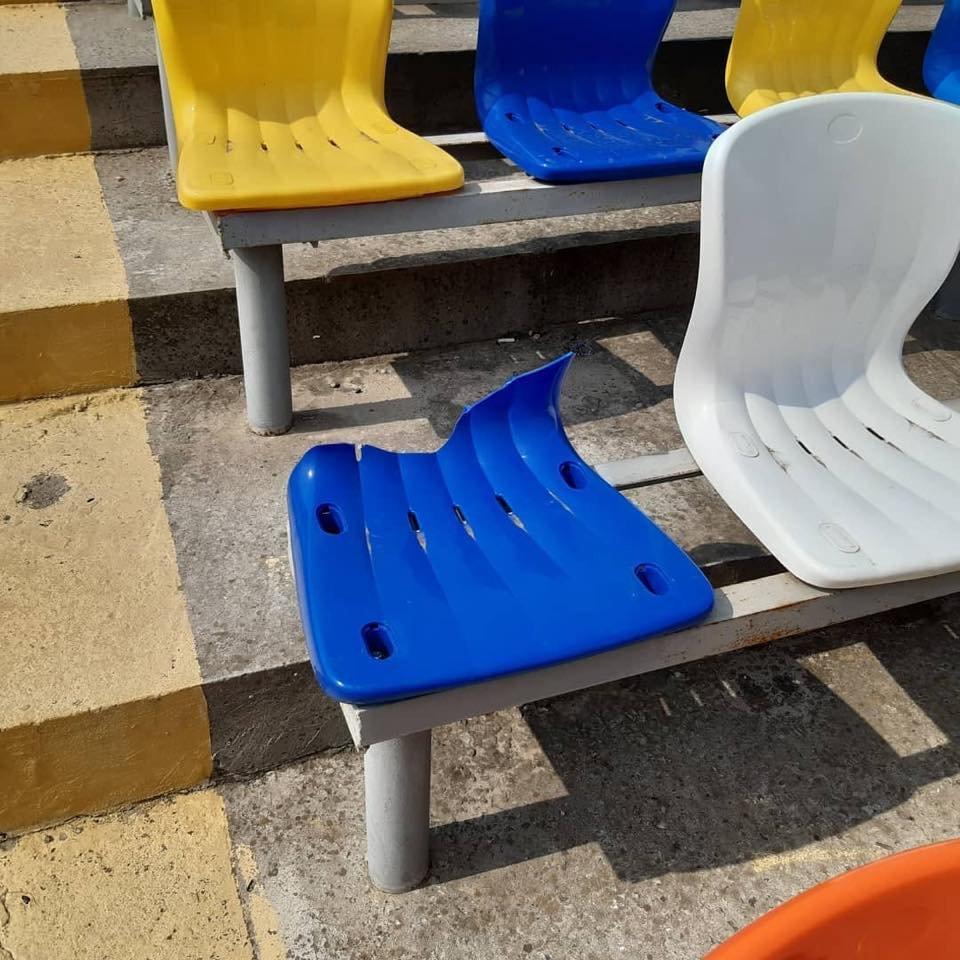 """На мелитопольском стадионе орудовали вандалы , фото-2, Фото из группы """"Родной Мелитополь"""""""