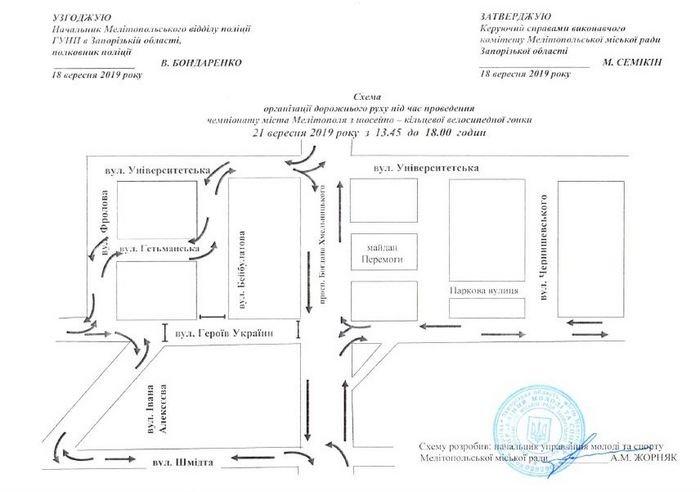 В Мелитополе перекроют одну из центральных улиц , фото-1