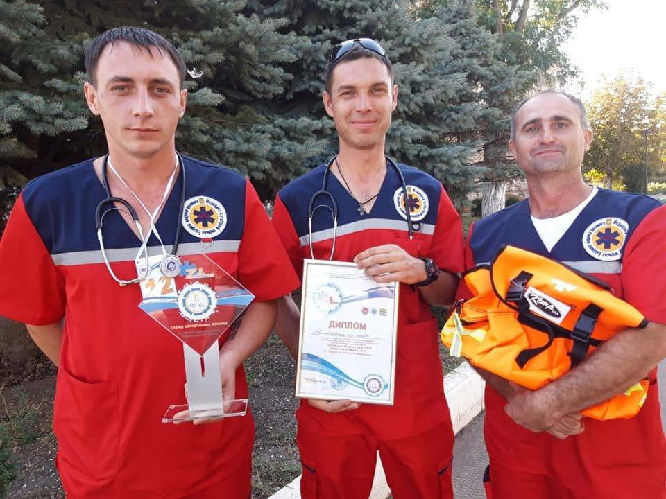 Команда мелитопольских медиков стала призером межобластных соревнований , фото-1