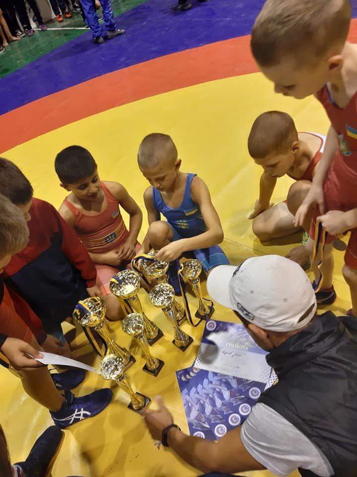 Юные мелитопольские борцы стали призерами всеукраинских соревнований , фото-1, Фото Яны Скильской