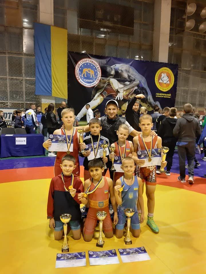 Юные мелитопольские борцы стали призерами всеукраинских соревнований , фото-2, Фото Яны Скильской