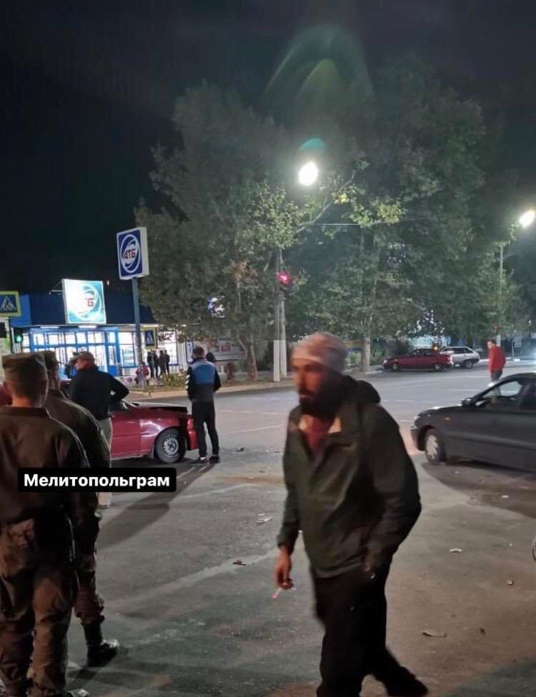 В Мелитополе столкнулись два автомобиля , фото-1