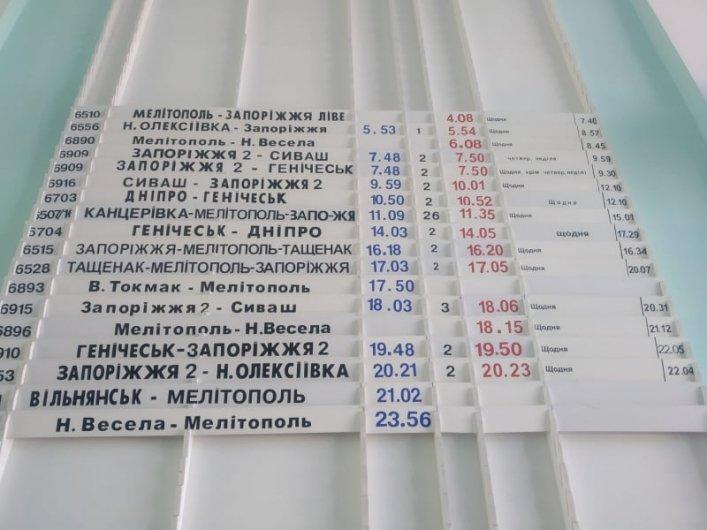 Стало известно, какие электрички будут курсировать через Мелитополь, фото-1