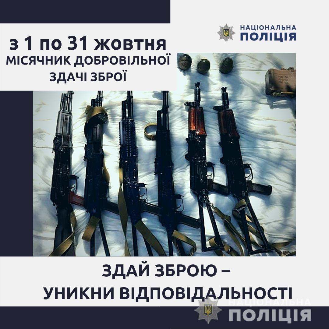 Жителям Мелитополя предлагают добровольно сдать оружие, фото-1