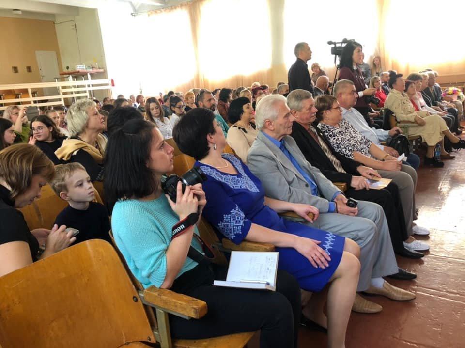 Одна из школ Мелитополя отметила 45-летний юбилей, фото-4, Фото пресс-службы Мелитопольского горсовета