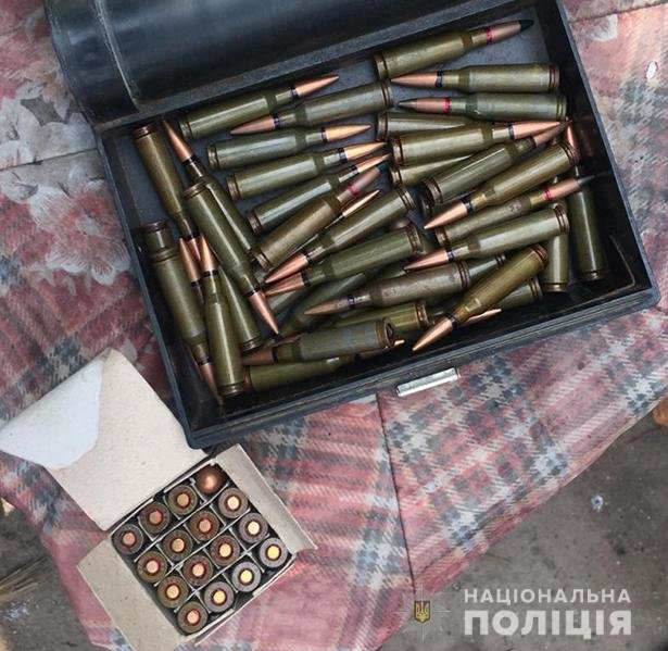 У жителя Мелитопольского района обнаружили схрон боеприпасов, - ФОТО, фото-2