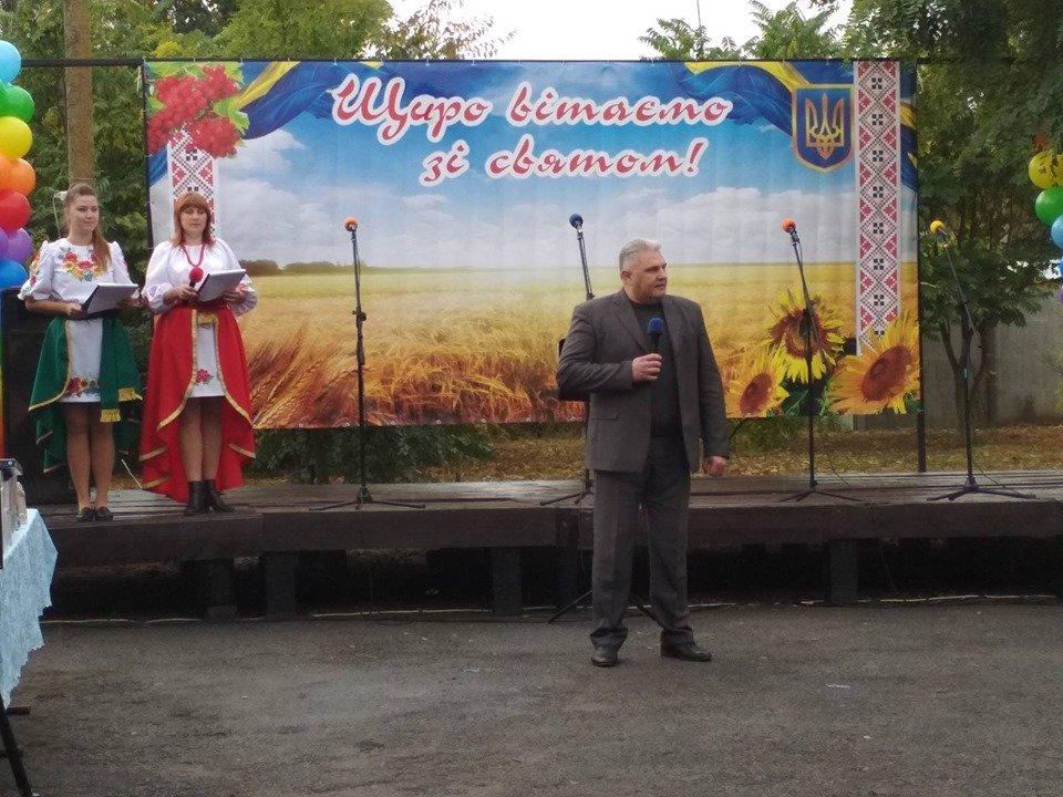 Жители села в Мелитопольском районе принимали поздравления , фото-2