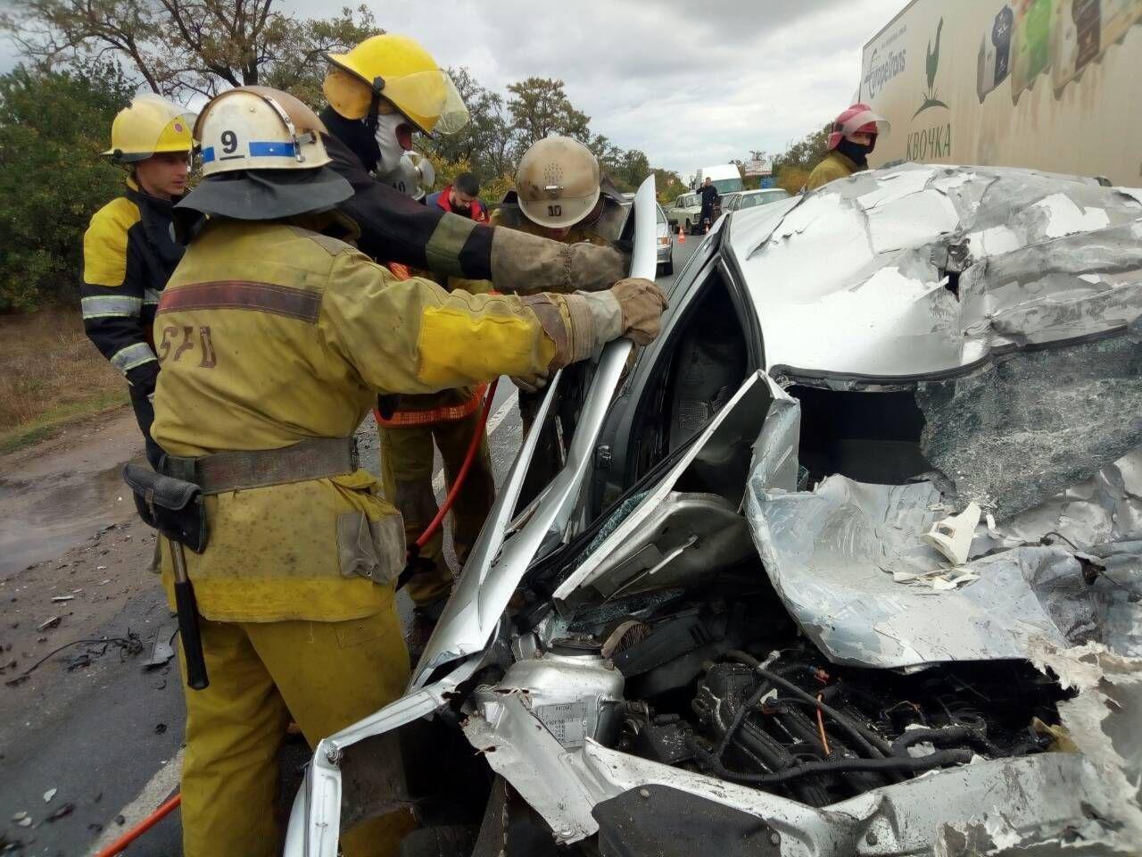 Спасатели прокомментировали смертельное ДТП под Мелитополем, - ФОТО, фото-2