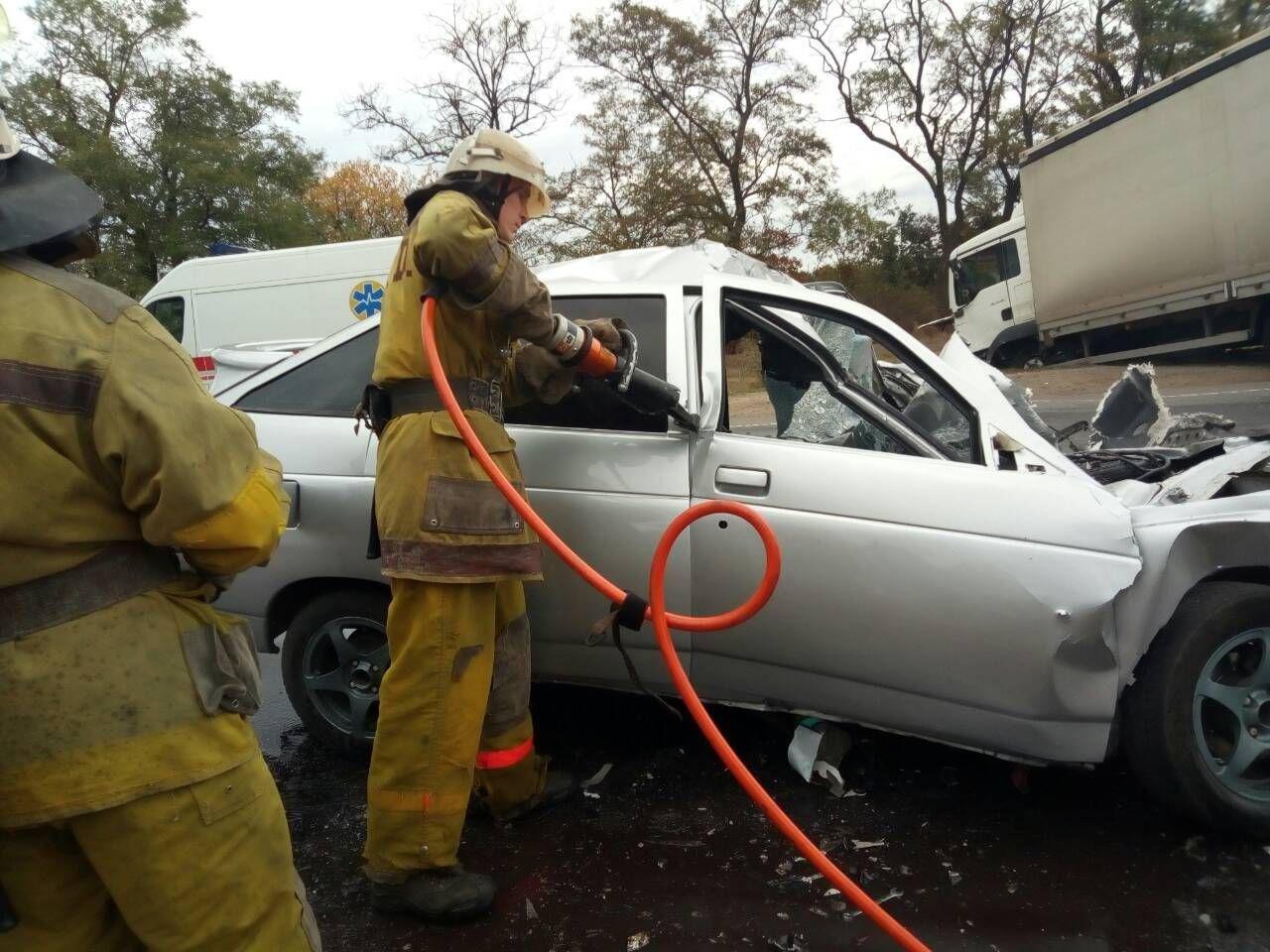 Спасатели прокомментировали смертельное ДТП под Мелитополем, - ФОТО, фото-3