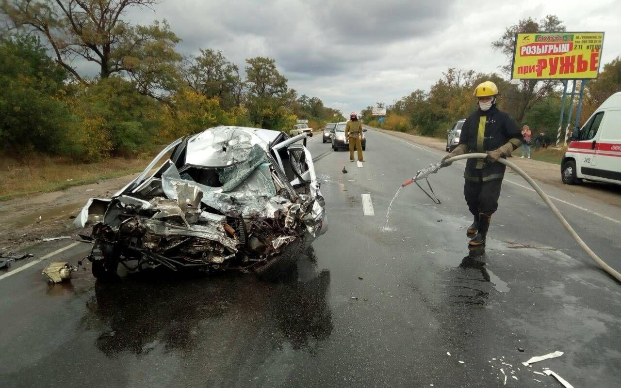 Спасатели прокомментировали смертельное ДТП под Мелитополем, - ФОТО, фото-4