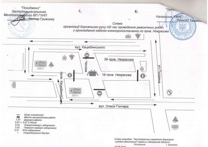 В Мелитополе временно перекроют одну из улиц, фото-1