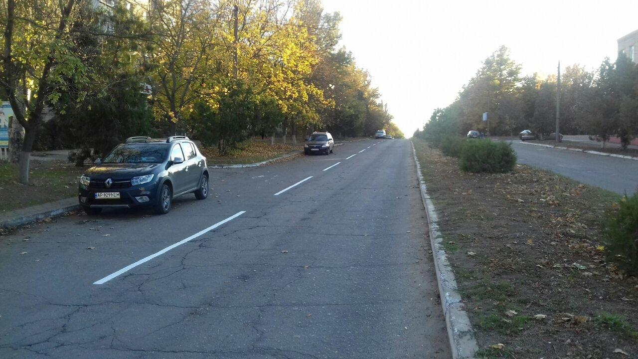 В Акимовке восстанавливают дорожную разметку , фото-2, Фото с сайта Акимовской ОТГ