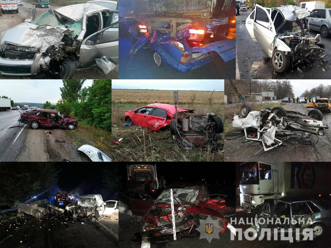 С начала года в Запорожской области в результате ДТП погибли 106 человек, фото-1