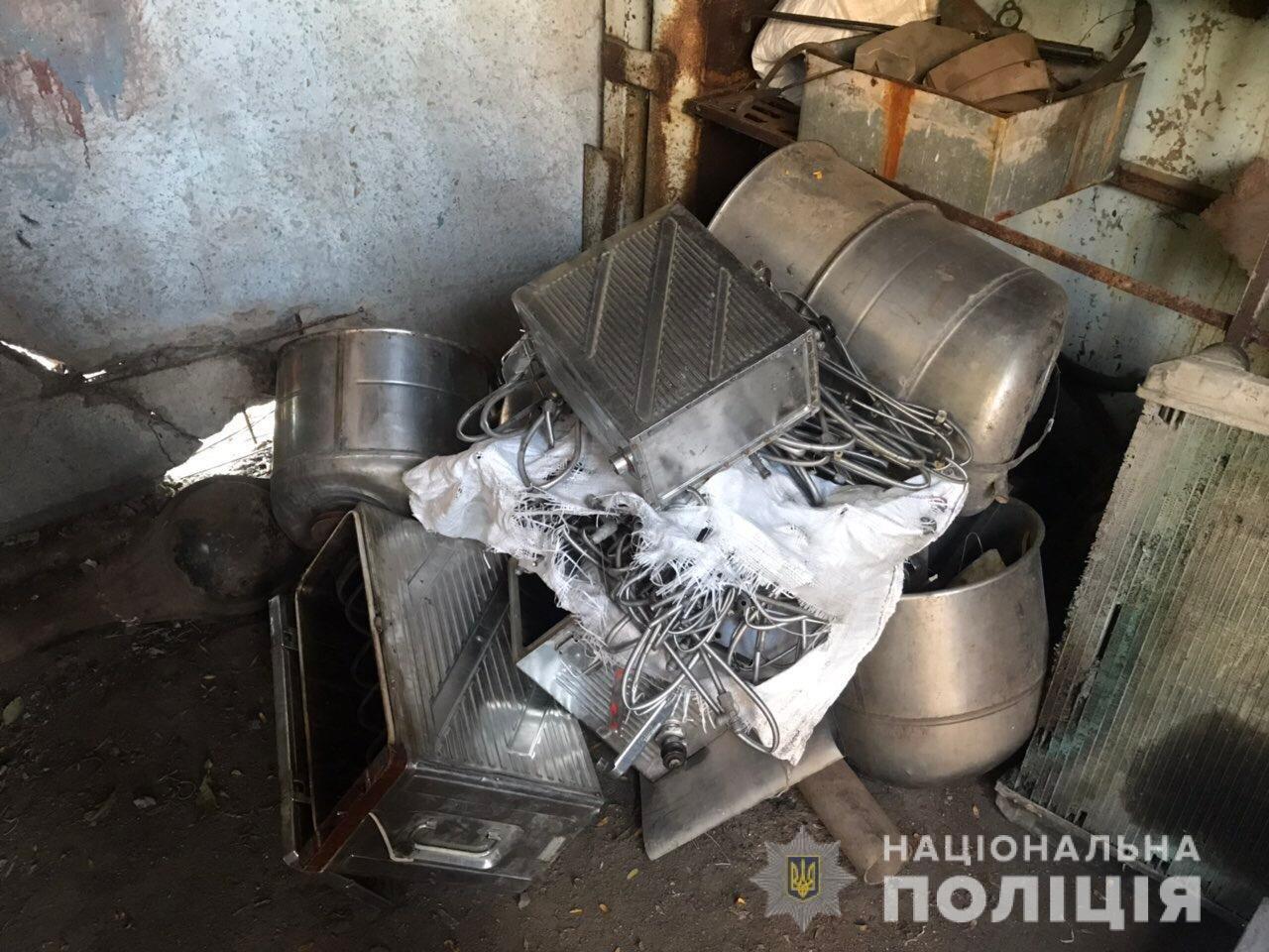 В Акимовке обнаружили незаконный пункт приема металлолома, - ФОТО, фото-2