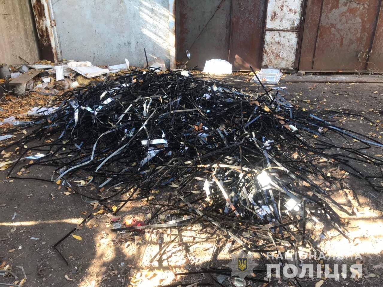 В Акимовке обнаружили незаконный пункт приема металлолома, - ФОТО, фото-3