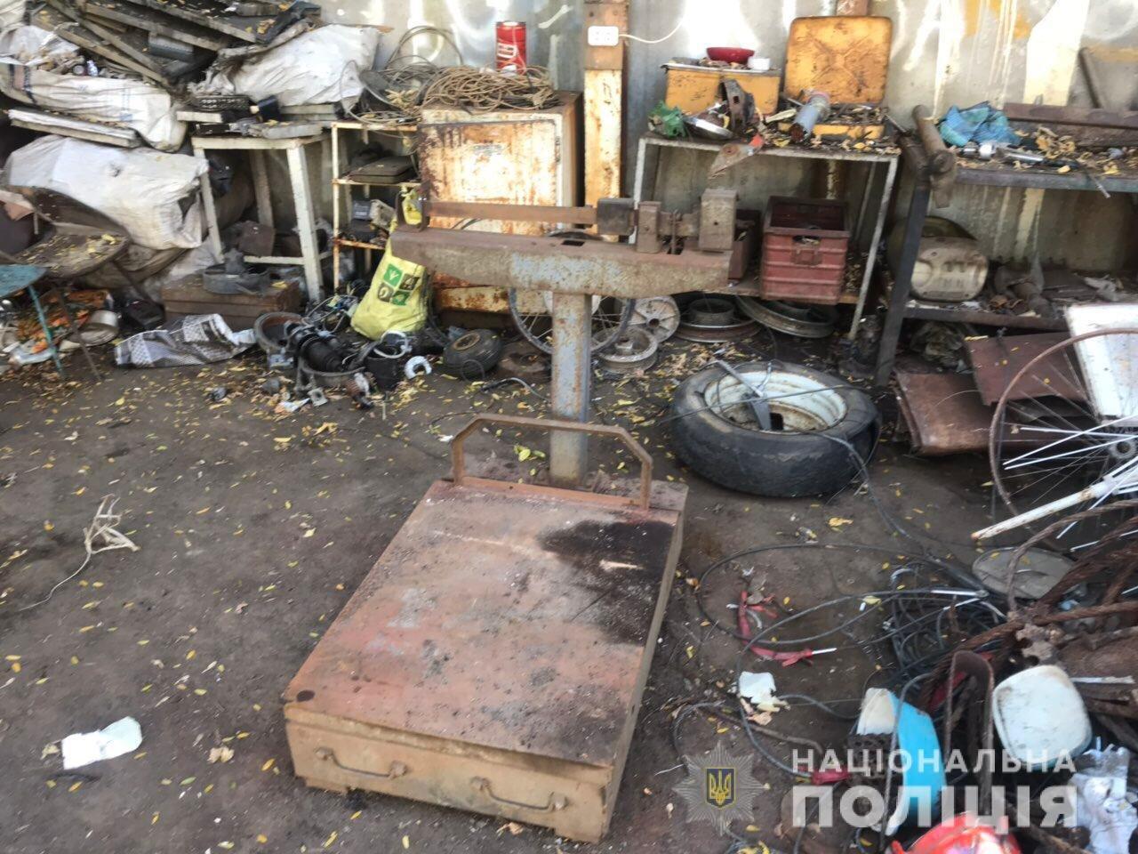 В Акимовке обнаружили незаконный пункт приема металлолома, - ФОТО, фото-4