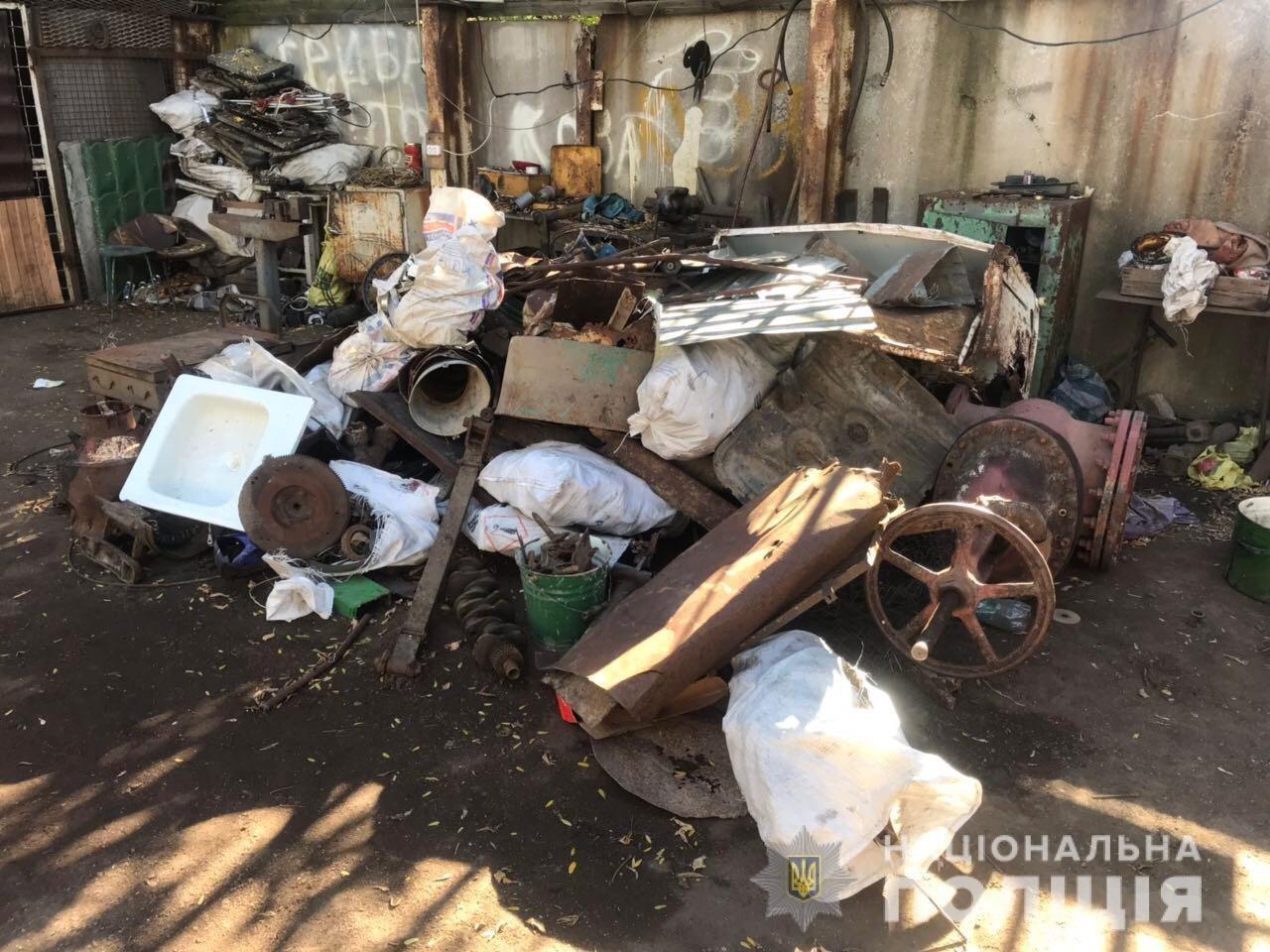 В Акимовке обнаружили незаконный пункт приема металлолома, - ФОТО, фото-5