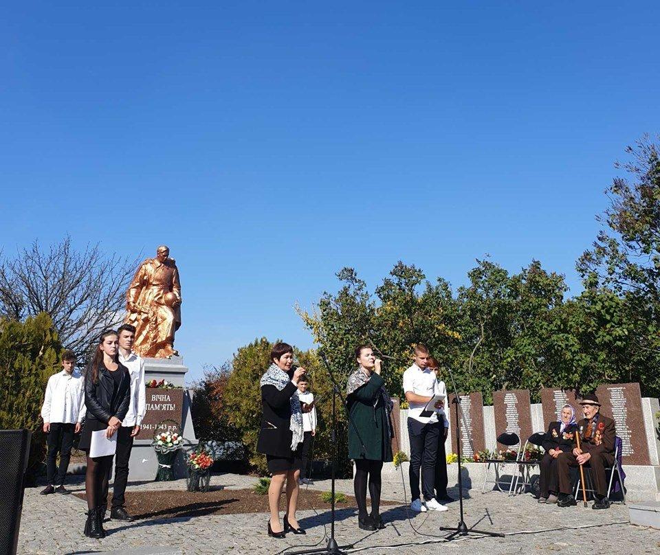 В селе под Мелитополем почтили память павших воинов , фото-3, Фото со страницы Константиновского сельсовета в Фейсбук