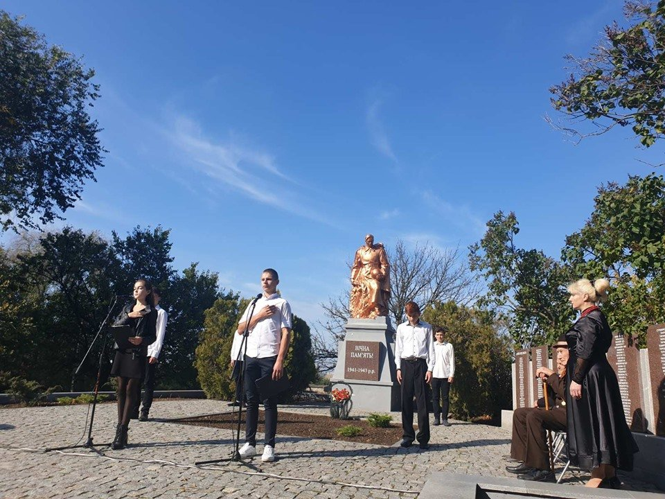В селе под Мелитополем почтили память павших воинов , фото-5, Фото со страницы Константиновского сельсовета в Фейсбук