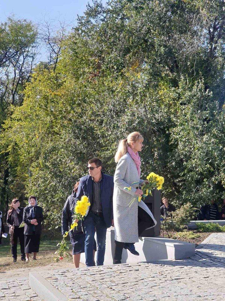 В селе под Мелитополем почтили память павших воинов , фото-6, Фото со страницы Константиновского сельсовета в Фейсбук