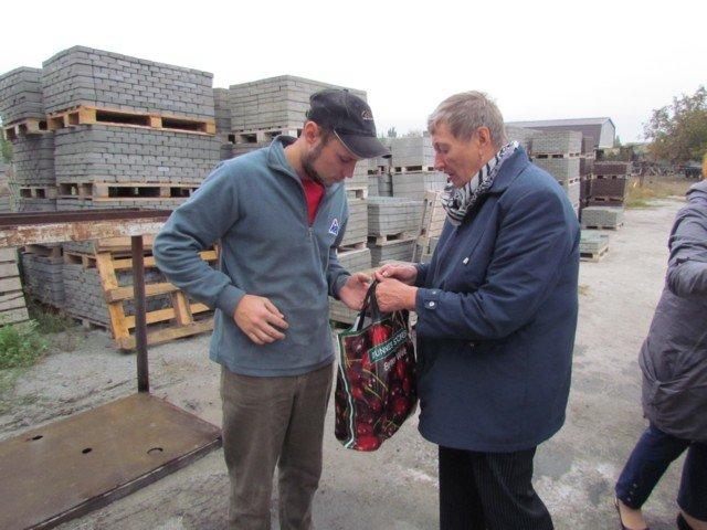 В Кирилловке участников АТО поздравили с праздником , фото-2