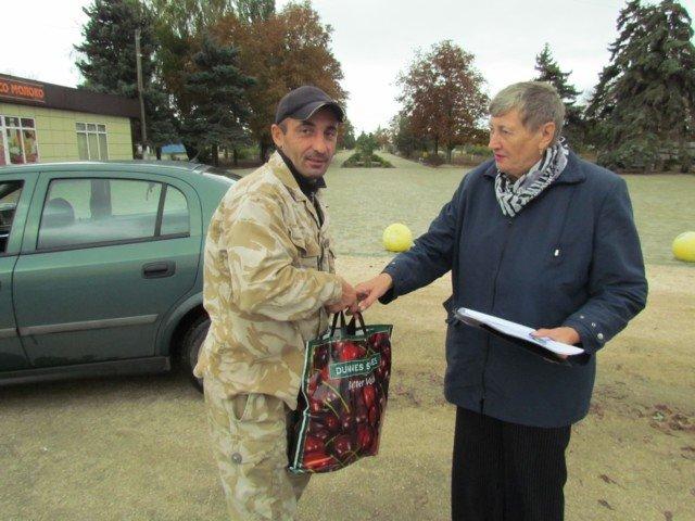 В Кирилловке участников АТО поздравили с праздником , фото-6