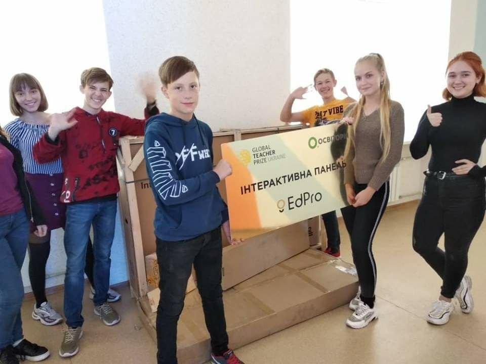 Мелитопольская учительница заработала для своей школы крутые подарки , фото-3