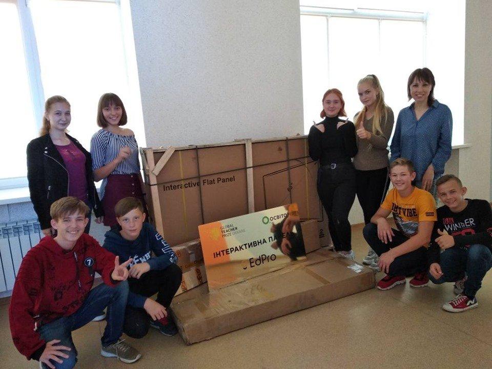 Мелитопольская учительница заработала для своей школы крутые подарки , фото-5