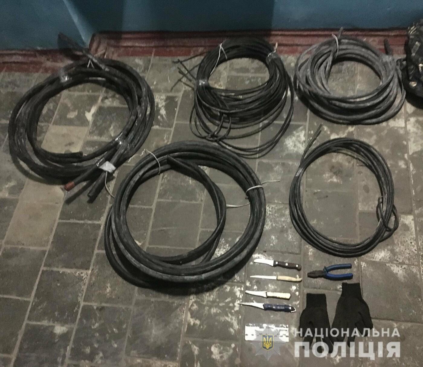 В Мелитополе задержали вора кабеля, – ФОТО, фото-1