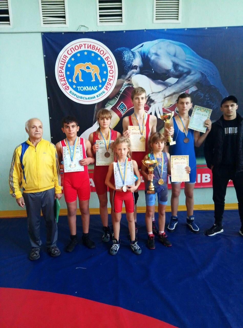 Акимовские борцы достойно выступили на всеукраинском турнире , фото-2