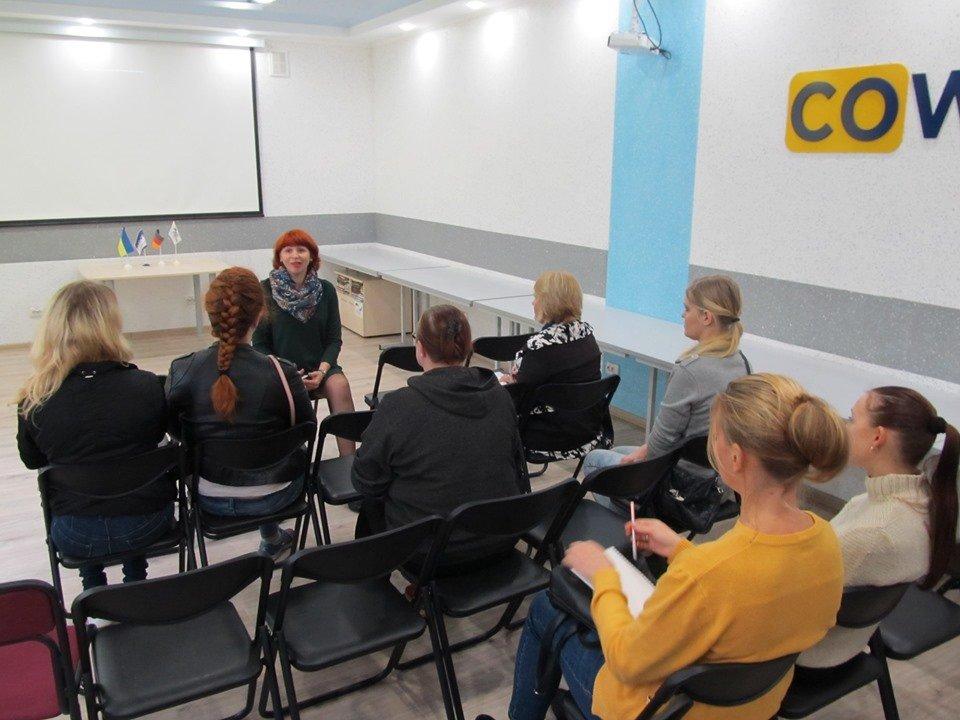 """В Мелитополе открылась """"Мастерская профессионального развития"""", фото-1"""
