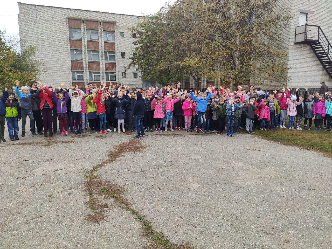 Акимовские спасатели посетили школу, фото-3