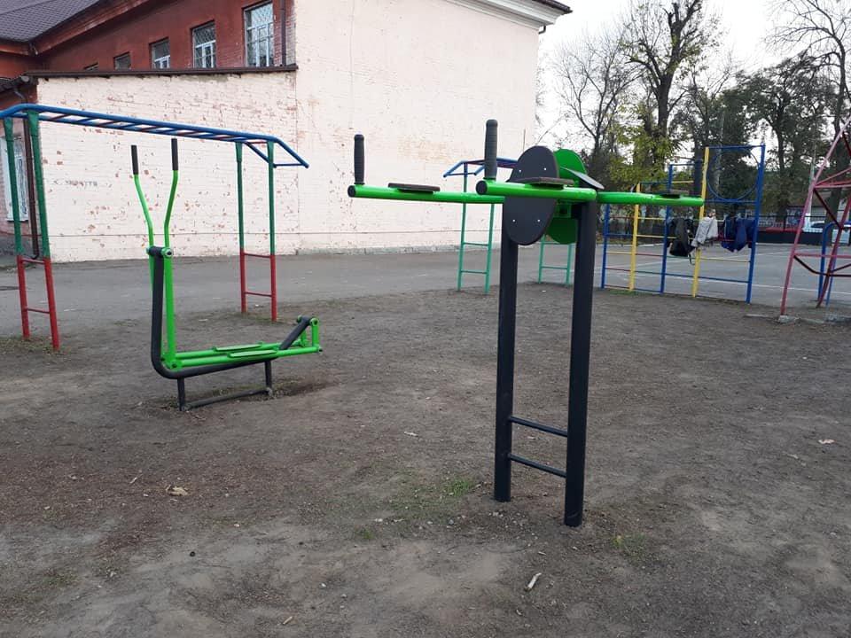 На территории мелитопольского лицея оборудовали современную спортивную площадку, фото-2, Фото Людмилы Шведюк